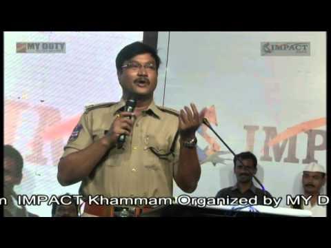 నిర్లక్ష్యం - అలవాటు - లక్ష్యం |AV Ranganath IPS SP| TELUGU IMPACT Khammam 2014
