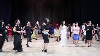 La Crosse Hmong New Year Party 2017-18 | Part 15, Line Dance