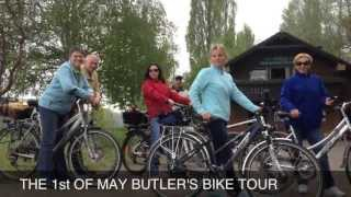 preview picture of video '*Tanja & Ron on Tour* Butler's Bike Tour'