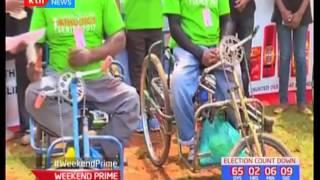 Robert Ndiwa and Pauline Wangui clinch first positions in the Henry Wanyoike run held in Kiambu
