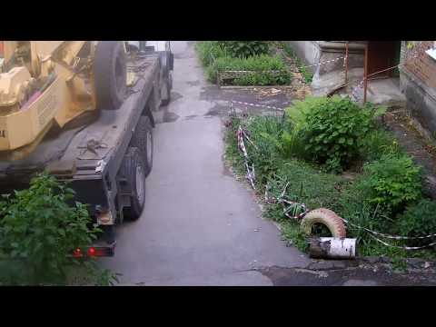 техника безопасности при работе крана видео