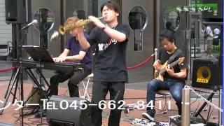 2012.7.7 馬車道ショートパフォーマンスライブ