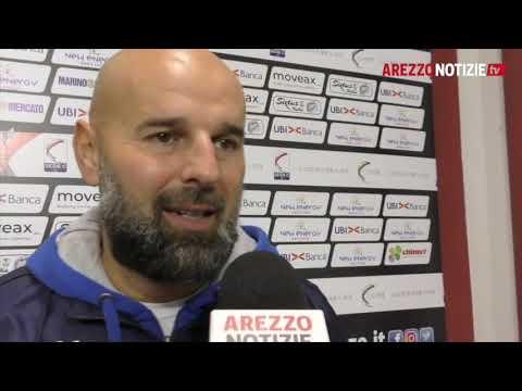 Arezzo-Feralpi Salò 2-3, il commento di mr Stellone