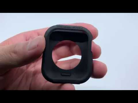 Apple Watch 4 Kılıf, Spigen Rugged Armor (44mm)