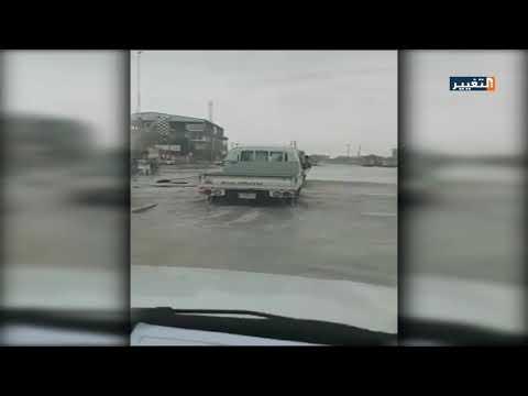 شاهد بالفيديو.. ناشطون: مياه الامطار تغرق شوارع مدينة العمارة بمحافظة ميسان