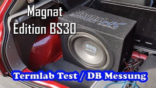 Magnat Edition BS30 / Mac Audio Edition BS30 Subwoofer Termlab Test 138.88dB im Opel Corsa A