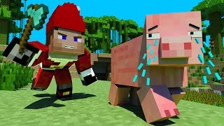 Pig Life 2   Minecraft Animation