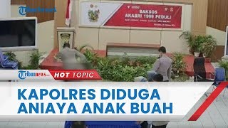 Viral Video Kapolres Nunukan Diduga Aniaya Anggotanya, Dipukul dan Ditendang hingga Tersungkur