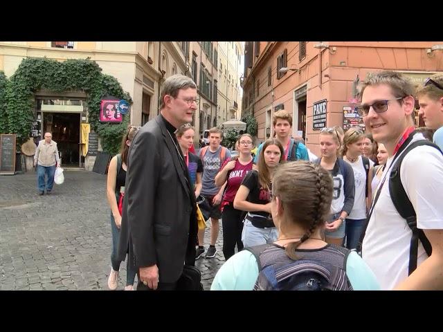 Ministrantewallfahrt 2018: Stadtrundgang mit Kardinal Woelki