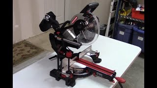Craftsman Miter Saw Review Model 407530