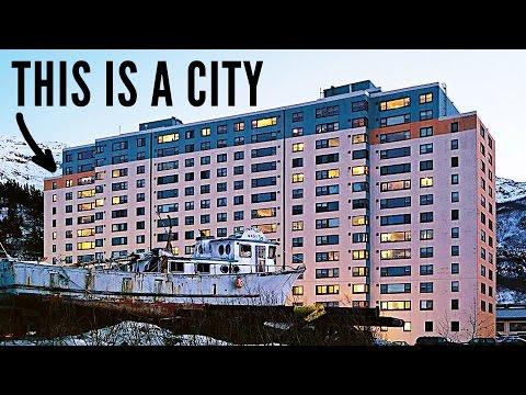 Město, kde všichni žijí v jediné budově
