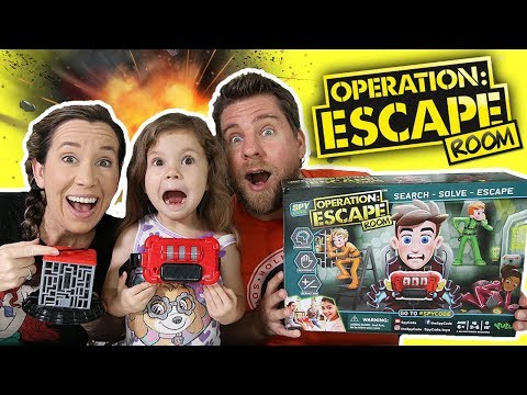 Operation Escape Room Game