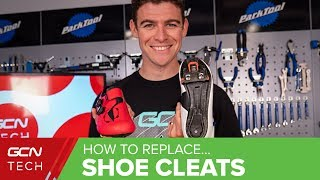 How To Replace Clip In Pedal Cleats And Set Up New Cycling Shoes