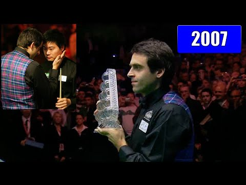 Ronnie O'Sullivan! Snooker Masters 2007. The way to the seven Masters titles