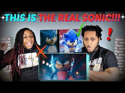 """THIS IS BETTER!   """"Sonic The Hedgehog"""" (2020) New Official Trailer REACTION!!"""