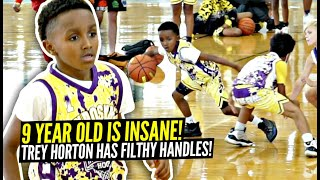 9 Year Old Trey Horton Has INSANE HANDLES!! Only In 3rd Grade & Has Game BEYOND HIS YEARS!