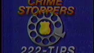 Crime Stoppers Segment with Dave Ward – 1987