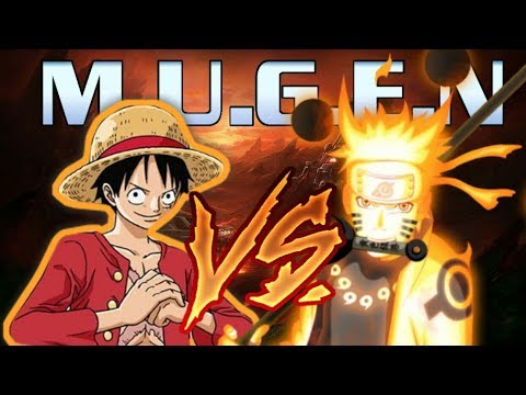 Luffy vs naruto uzumaki // combate titánico // gear fourth 2016. Luffy Vs Naruto Max Power M U G E N 2 Kaskus