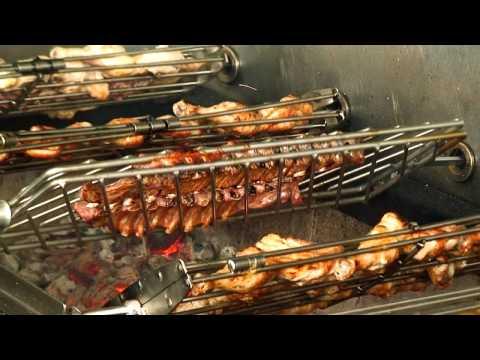 Barbecue portugais 5 broches 15 poulets GRELHACO sur CHR