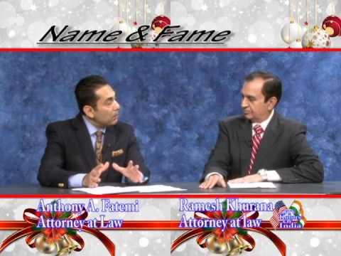 Attorney Khurana & Attorney Fatemi Legal Round Table Week 2