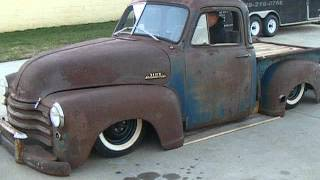 1949 Chevy Rat Rod Pick Up Truck Chevrolet Hotrod Custom