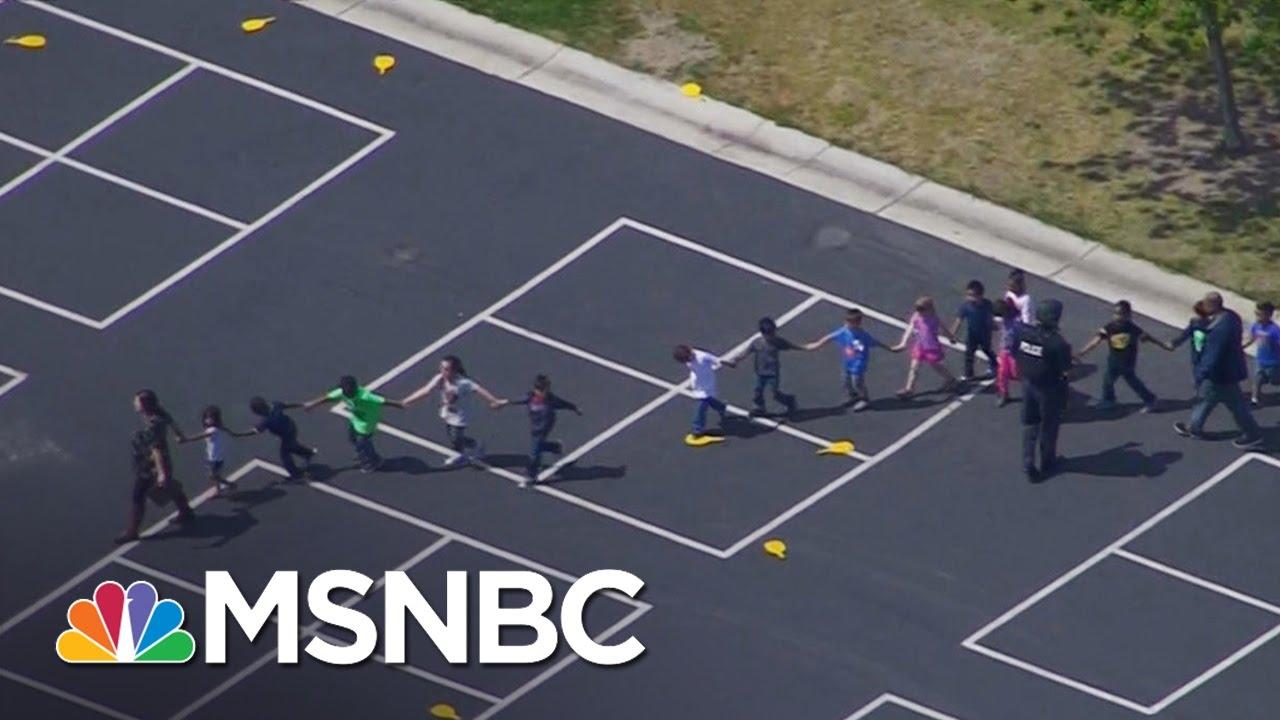 Multiple People Injured In Shooting At Elementary School In San Bernardino | MSNBC thumbnail