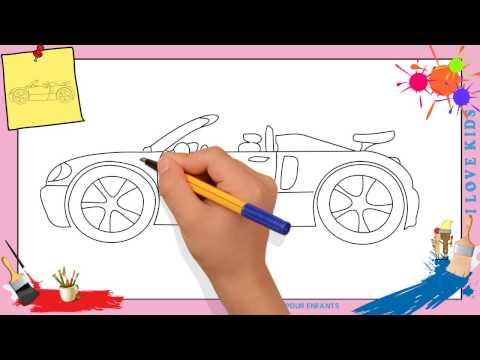 Comment dessiner une voiture de course facile comment dessiner - Dessiner voiture de course ...