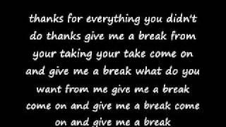Dope - Thanks For Nothing lyrics
