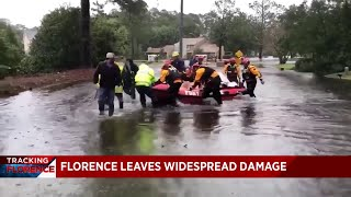 Several deaths confirmed after Hurricane Florence makes landfall in North Carolina
