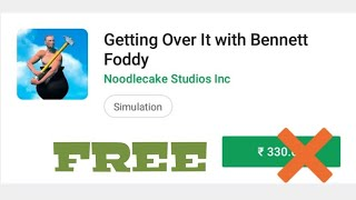 getting over it with bennett foddy apkpure