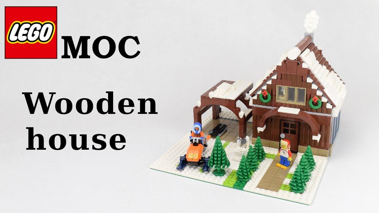 Lego MOC - Wooden House