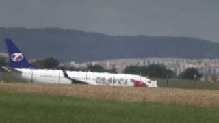 preview picture of video 'Travel Service - landing Brno airport LKTB'