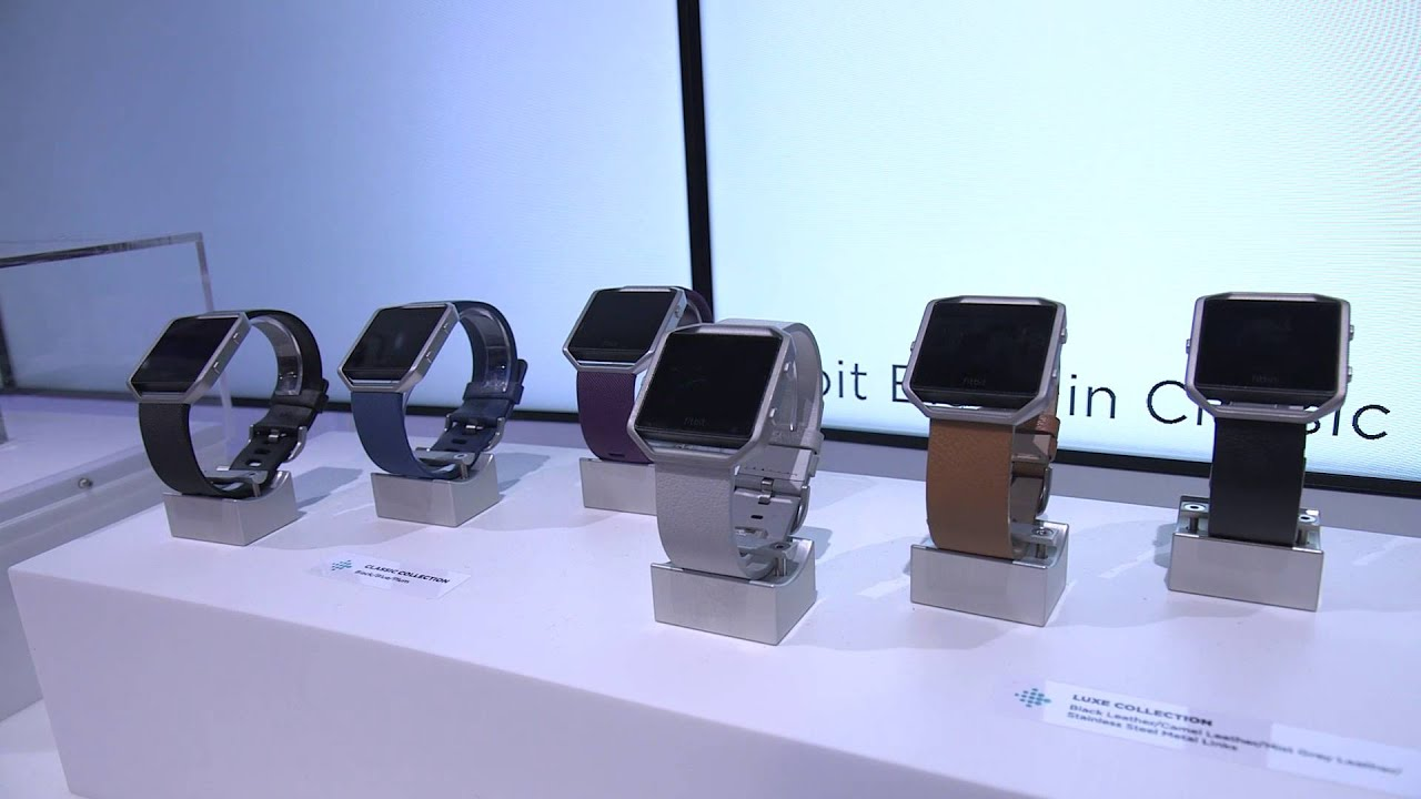 Fitbit's new fitness watch Blaze — CES 2016 thumbnail