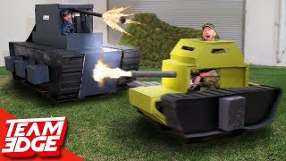 Epic Mini Tank Battle! | Destroy the Giant Tank!!
