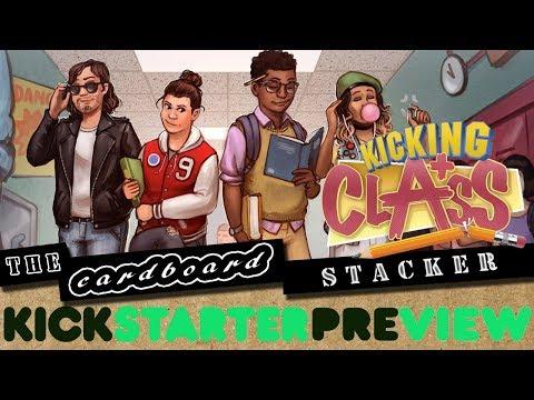 Cardboard Stacker Kicking Class Preview