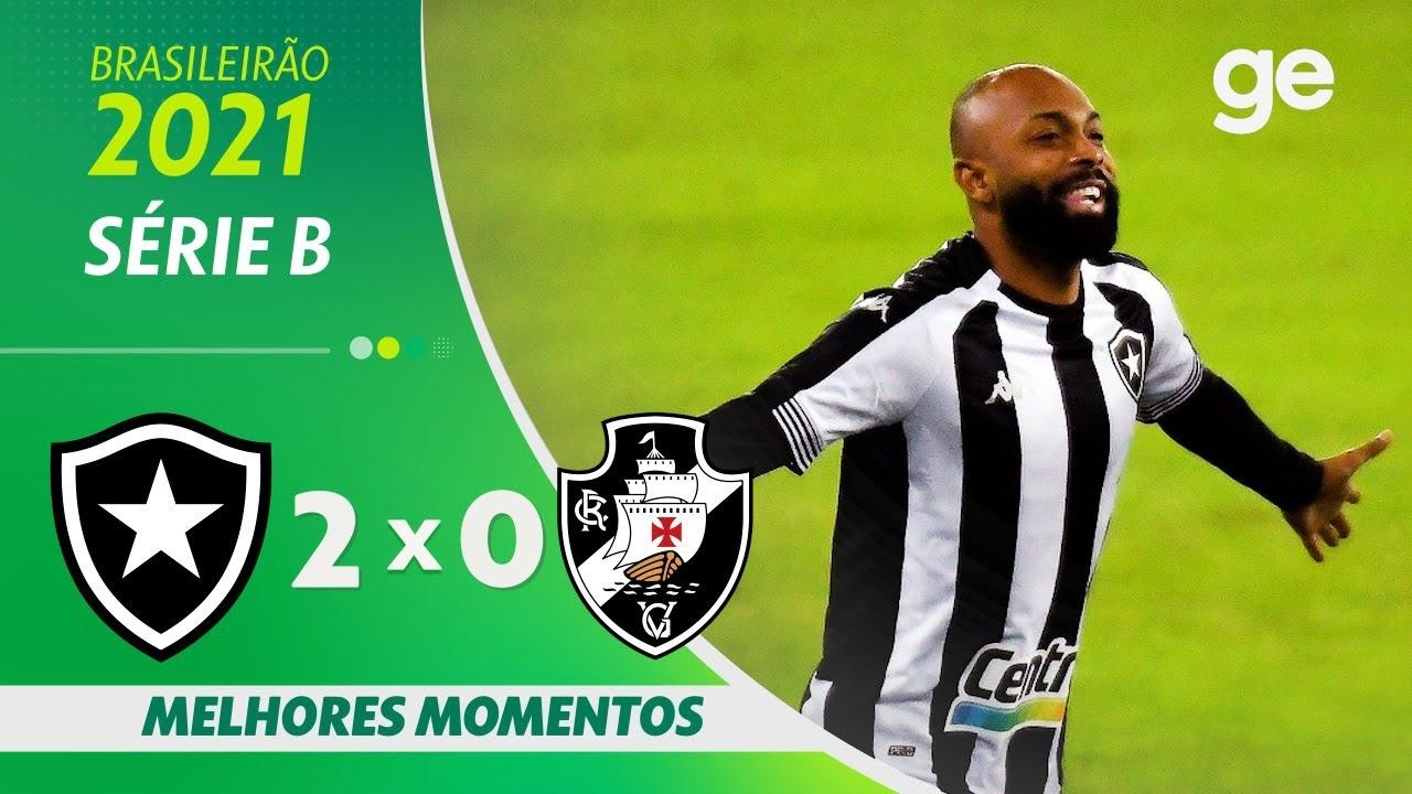 VÍDEO: Gols e melhores momentos da vitória do Botafogo sobre o Vasco pela Série B