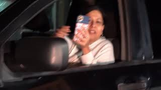 LADY TRIES TO HIT ME WITH HER TRUCK