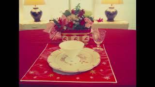 お菓子のかごで簡単にできるクリスマステーブルコーディネート