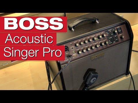 Boss Acoustic Singer Pro Akustik-Gitarren-Verstärker-Review von session