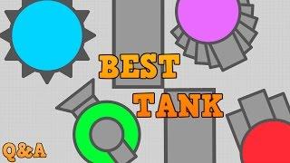 DIEP.IO MAZE BEST TANKS!! // New Spike Tank // Plus Q&A