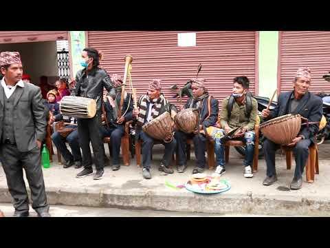 पन्चेबाजामा ख्याली ताल र रमाईलो नृत्य     Syangja Phedikhola Aarukharka panche baja