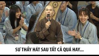 Sư thầy Thích Tâm Nguyên có giọng hát ngọt ngào hát SAU TẤT CẢ câm nín cả giảng đường