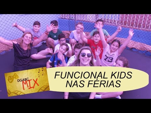 Funcional kids agita as férias no DGABC MIX