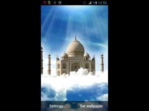 Video of Taj Mahal Live Wallpaper