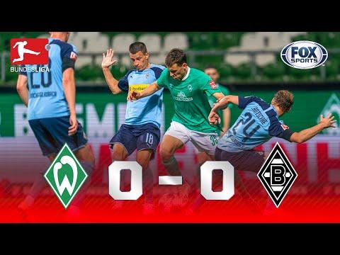 EMPATE COM EMOÇÃO ATÉ O FIM! Lances de Werder Bremen 0 x 0 Borussia Monchengladbach pela Bundesliga