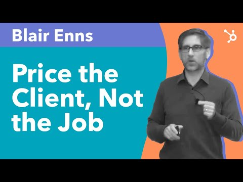 Price the Client, Not the Job