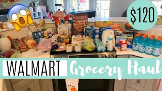 WALMART GROCERY HAUL // MEAL PLANNING // EASY MEAL IDEAS FOR FAMILY
