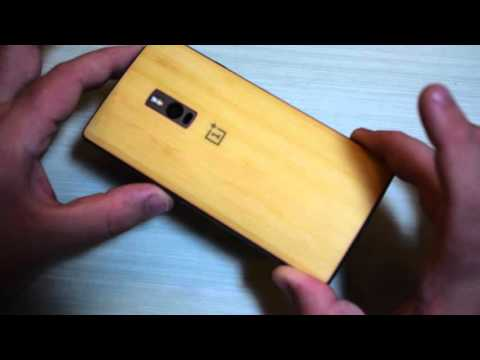 Foto Recensione StyleSwap cover Bamboo OnePlus 2 (Two)