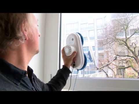 Fensterputzroboter sorgt für saubere Scheiben