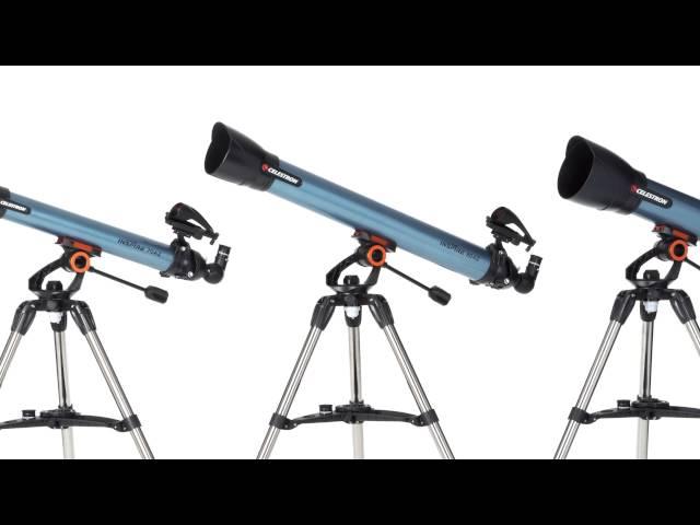 Celestron Inspire 70AZ Refractor Telescope - 22401